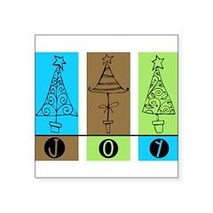 JOY Square Sticker 3