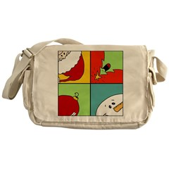 christmas fun Messenger Bag