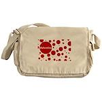 Valentine dots Messenger Bag