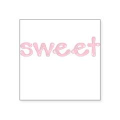 sweet Square Sticker 3