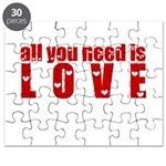 all you need is love Puzzle