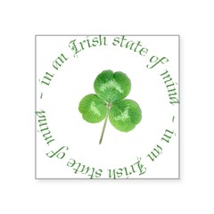 irish blessing Square Sticker 3
