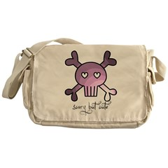 scary but cute Messenger Bag