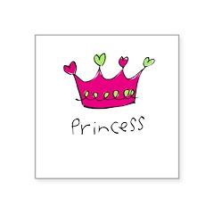 princess Square Sticker 3