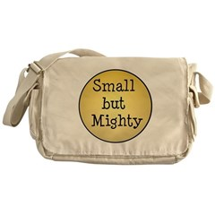 small but mighty Messenger Bag