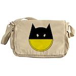 Bat Smiley Messenger Bag