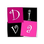 DIVA Square Sticker 3