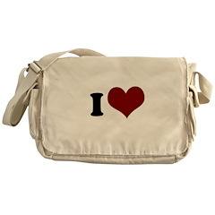 i heart heart.png Messenger Bag