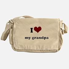 i heart my grandpa.png Messenger Bag