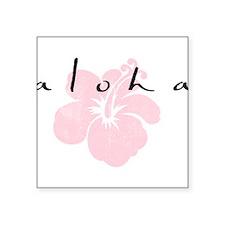 aloha.png Square Sticker 3