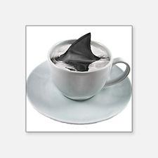 """cuppa joe2-sq.png Square Sticker 3"""" x 3"""""""