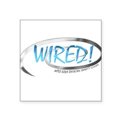 wired_sq1.png Square Sticker 3