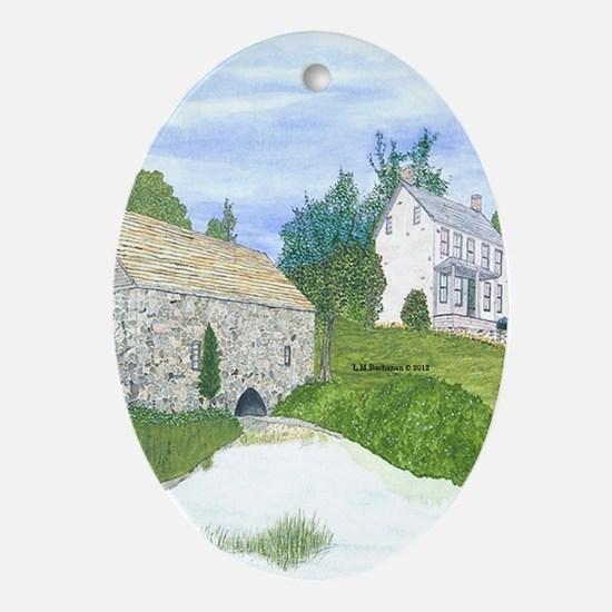 Fishin' Hole Ornament (Oval)