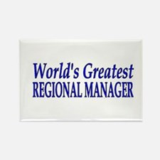 Cute Funny manager Rectangle Magnet
