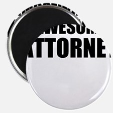 """Awesome attorney 2.25"""" Magnet (100 pack)"""