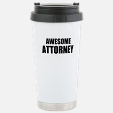 Awesome attorney Travel Mug
