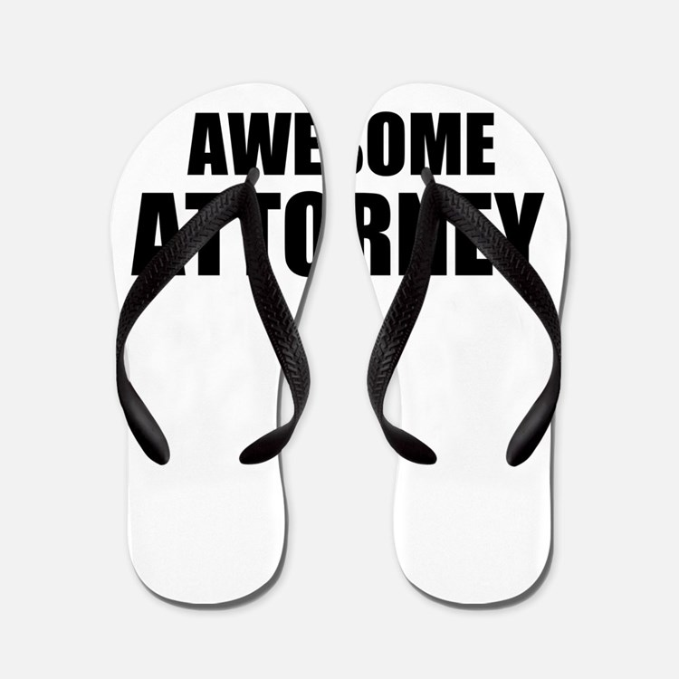 Awesome attorney Flip Flops