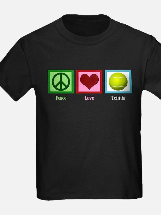 Peace Love Tennis T