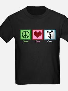 Peace Love Cheer T
