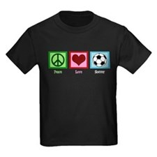 Peace Love Soccer T