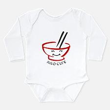 Miso Cute Long Sleeve Long Sleeve Infant Bodysuit