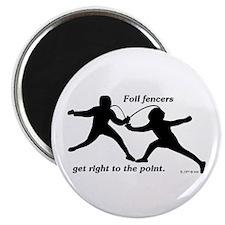 Foil Point Magnet