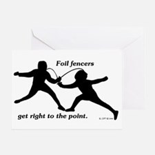 Foil Point Greeting Card