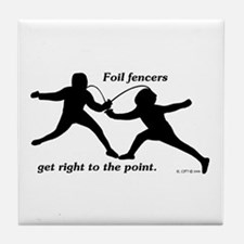 Foil Point Tile Coaster