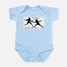 Foil Point Infant Bodysuit