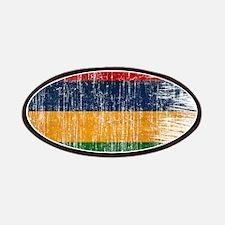 Mauritius Flag Patches