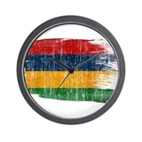 Country flag mauritius Basic Clocks