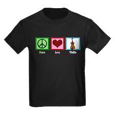 Peace Love Violin T