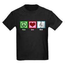 Peace Love Choir T