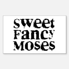 Sweet Fancy Moses Rectangle Decal