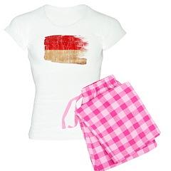 Monaco Flag Pajamas