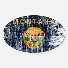 Montana Flag Decal