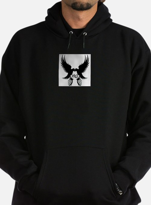 Dove and Grenade Hollywood Undead Hoodie (dark)