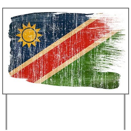 Namibia Flag Yard Sign