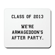2013 Armageddon After Party Black.png Mousepad