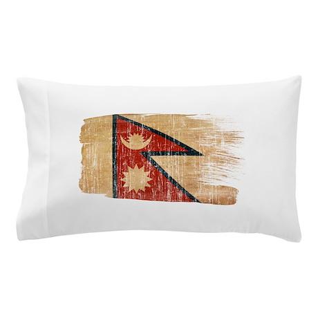 Nepal Flag Pillow Case