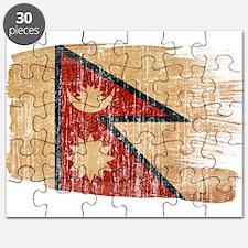 Nepal Flag Puzzle