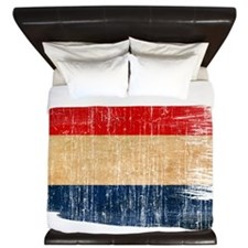 Netherlands Flag King Duvet