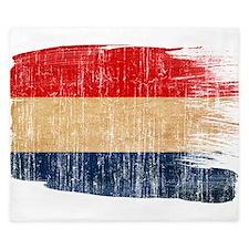 Netherlands Flag King Duvet