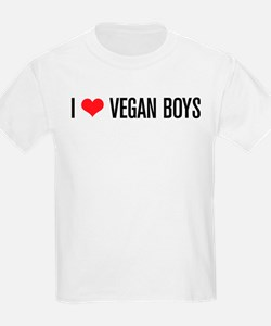 I Love Vegan Boys T-Shirt