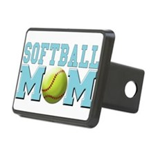 softball mom(white).png Hitch Cover