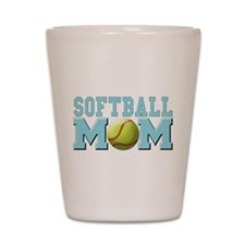 Softball MOM Shot Glass
