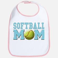 Softball MOM Bib