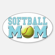 Softball MOM Decal