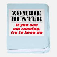 Zombie Hunter baby blanket