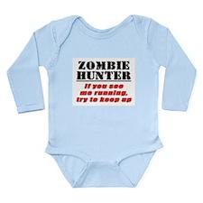 Zombie Hunter Long Sleeve Infant Bodysuit